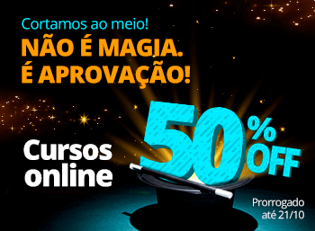 50 % nos Cursos Online.