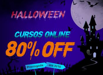 Halloween 2020 - Curso Online (Prorrogado)