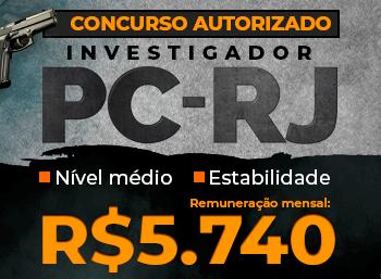 Investigador - PCRJ