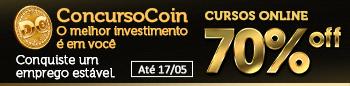 Concurso Coin Online 70% OFF - Até 17 de Maio