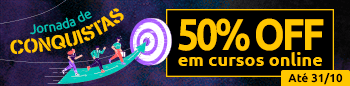 Jornada de Conquistas \ Cursos Online   50% off até 31/10