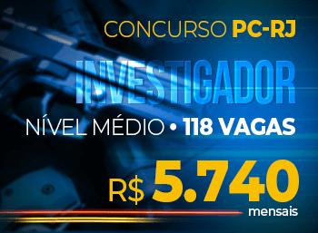 Concurso Policia Civil Rio Janeiro Investigador