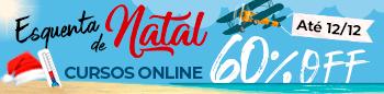 Esquenta de Natal! Cursos Online com 60% off