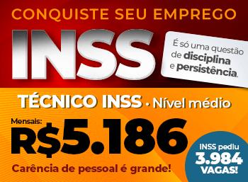 Concurso INSS - Técnico do Seguro Social