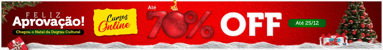 Feliz Aprovação. O Natal Chegou. Cursos Online Até 70% Off