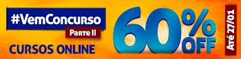Cursos Online até 60% off até dia 27/01