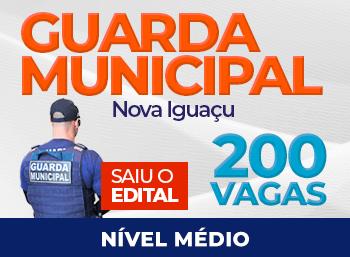 Saiu o Edital para a Guarda Municipal de Nova Iguaçu!