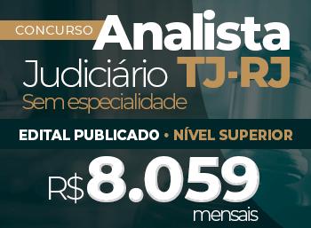 Edital Publicado Concurso Analista TJ-RJ!