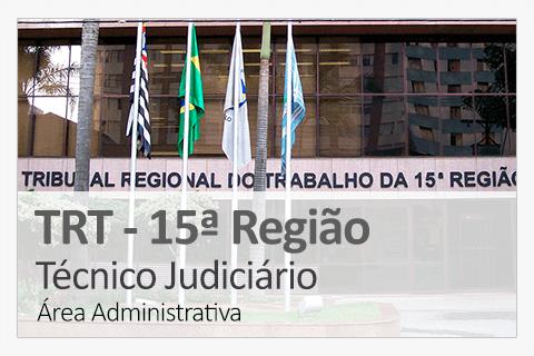 Concurso Concurso TRT 15 ª Região - Técnico Judiciário
