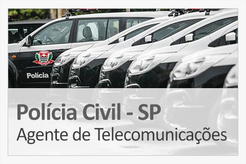 Concurso Concurso Polícia Civil SP - Agente de Telecomunicações