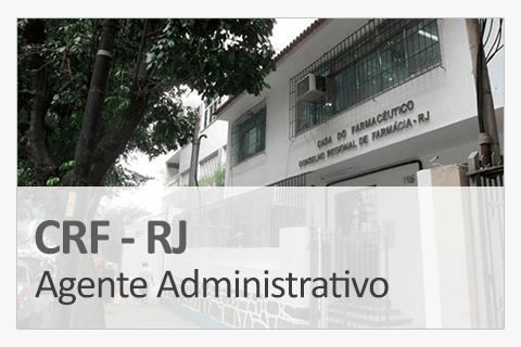 Concurso Concurso CRF-RJ - Agente Administrativo