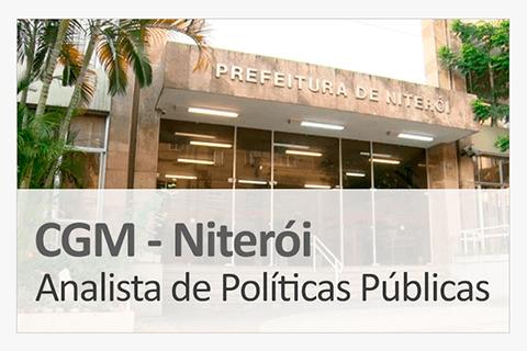 Concurso Concurso CGM Niterói - Analista de Políticas Públicas