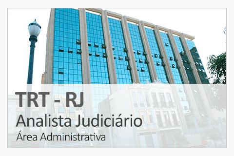 Concurso Concurso TRT-RJ - Analista Judiciário - Área Administrativa