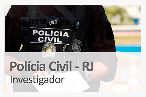 Concurso Policia Civil - Investigador