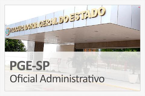 Concurso Concurso PGE-SP - Oficial Administrativo