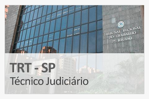 Concurso Concurso TRT-SP - Técnico Judiciário