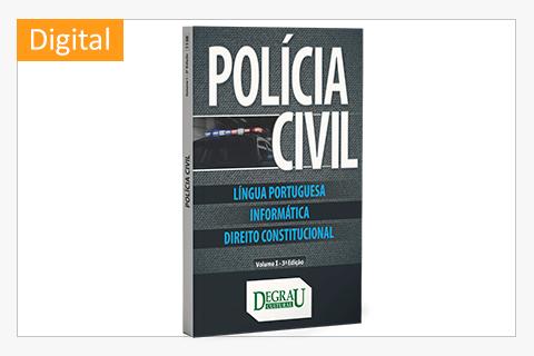 Policia Civil  (Volume I 3ª Edicao) - Cód. 1138D
