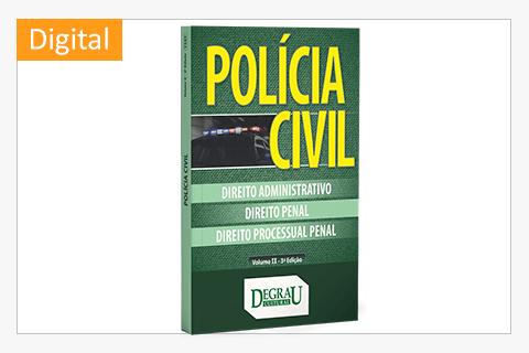 Policia Civil (Vol II 3ª Ed) - Cód. 1141D