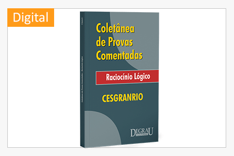 Provas Comentada Raciocínio Logico (Cesgranrio) - Cód. 1150