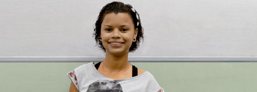 Imagem Conheça a Flávia, aprovada em 1º para o magistério de Caxias