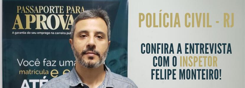 Imagem Concurso Polícia Civil RJ: confira a entrevista com nosso aprovado em 1º lugar