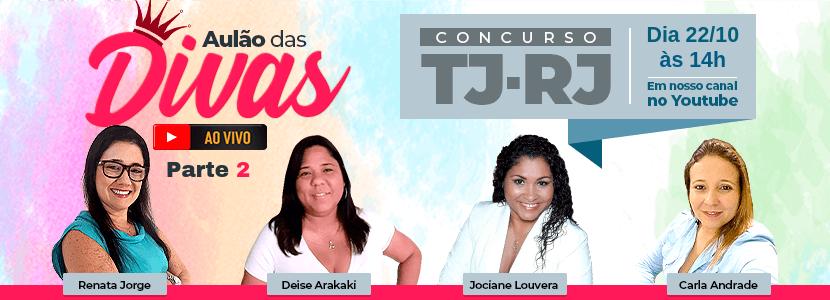 Imagem Concurso TJ-RJ: a volta das Divas do Direito [AULÃO AO VIVO]