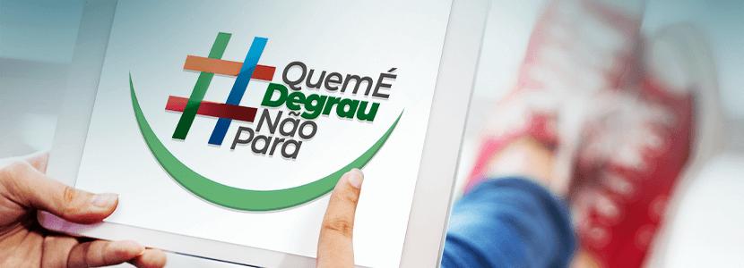 Imagem Campanha Quem é Degrau Não Para!