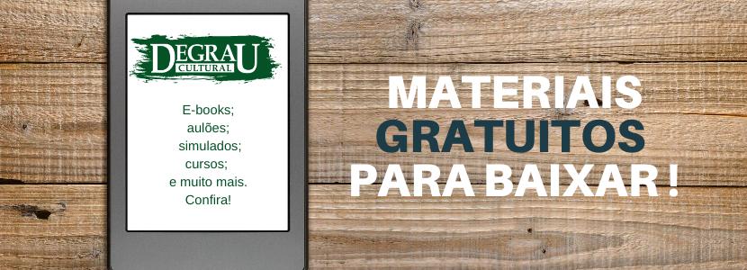 Imagem notícia Dia do estudante: materiais gratuitos para você se preparar para concursos públicos!