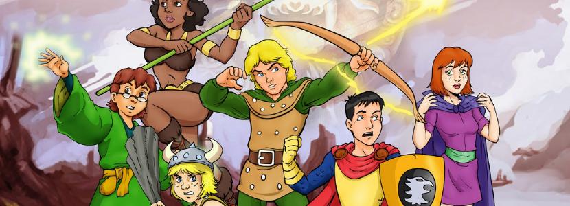 Imagem Semelhança entre o perfil do concurseiro com os personagens da Caverna do Dragão