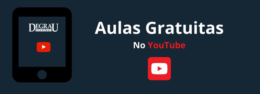 Concursos públicos: aulas gratuitas no YouTube