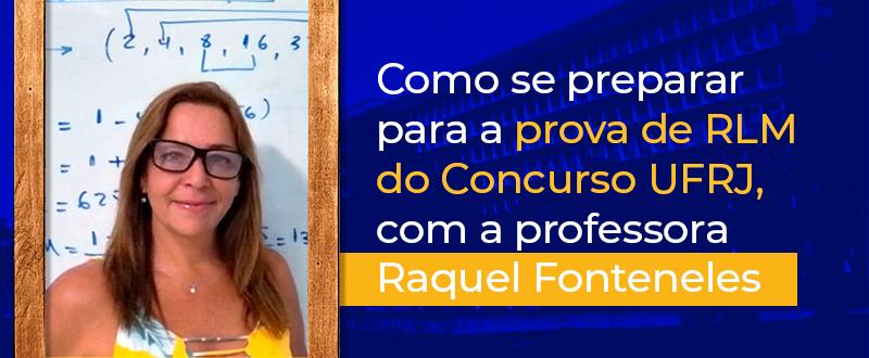 Imagem Concurso UFRJ: como se preparar para a prova de RLM?