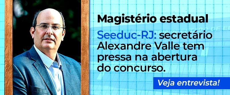 Imagem Concurso Seeduc: secretário quer edital em novembro