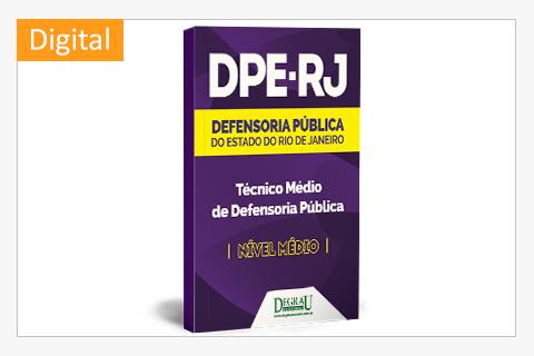 DPE - RJ - Técnico Médio da Defensoria - 2ª Edição - Cód. 1163D