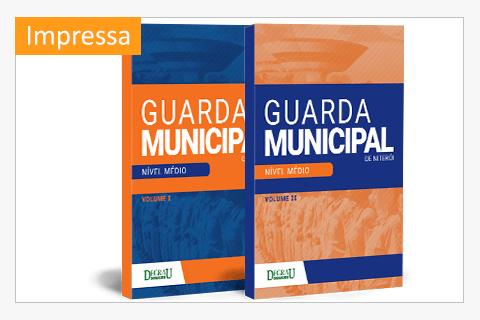 Combo Apostila Concurso Guarda Municipal de Niterói - Vol. I & II