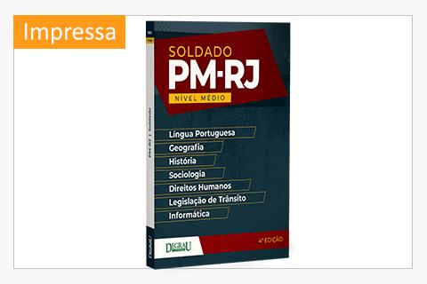 PM-RJ - Soldado - 4ª Edição - Cód. 0939