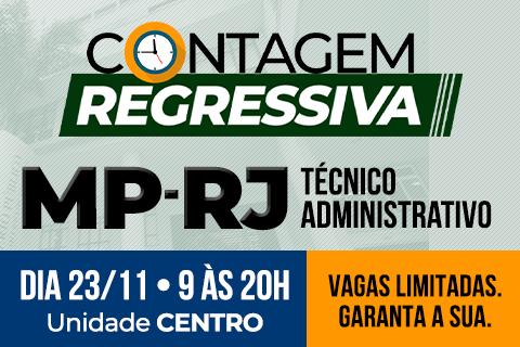 Contagem Regressiva MP-RJ