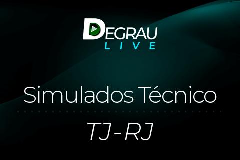 TJ-RJ - Simulados Técnico Judiciário