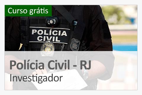 Curso Policia Civil - Investigador (Grátis)