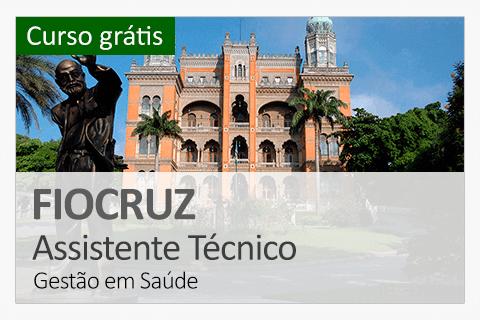 FIOCRUZ - Assistente em Administração (Curso Grátis)
