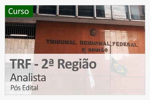 TRF Básico 2° Região - Analista (Pós Edital)