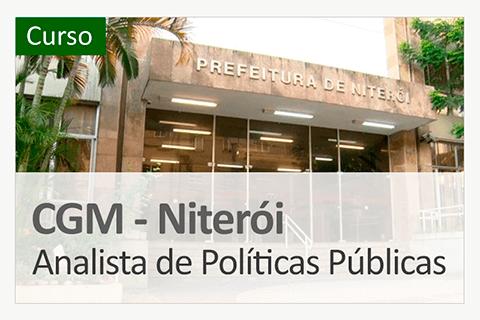 Curso CGM Niterói - Analista de Políticas Públicas
