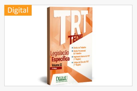 Apostila TRT  Legislação Específica (Volume II - 2ª Edição) digital