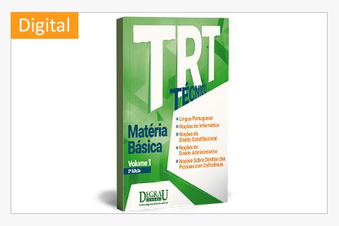 TRT Matéria Básica (Volume I - 2ª Edição) digital