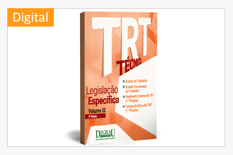TRT Legislação Específica (Volume II - 3ª Edição) digital