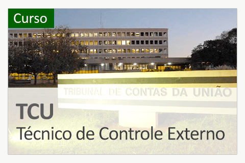 TCU - Técnico Federal de Controle Externo