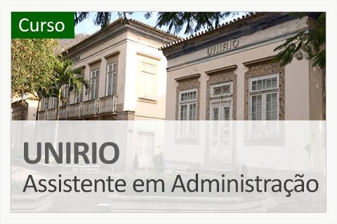 UNIRIO - Assistente em Administração